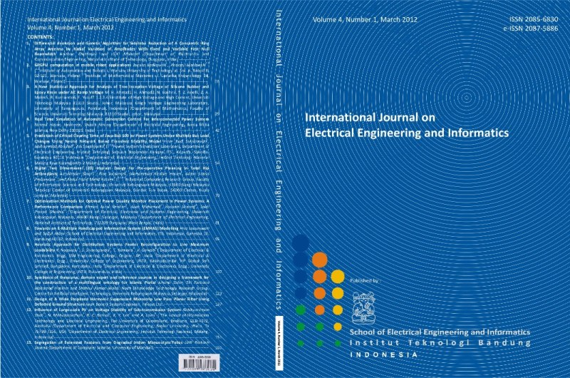 Journal cover Vol. 4 No. 1  2012