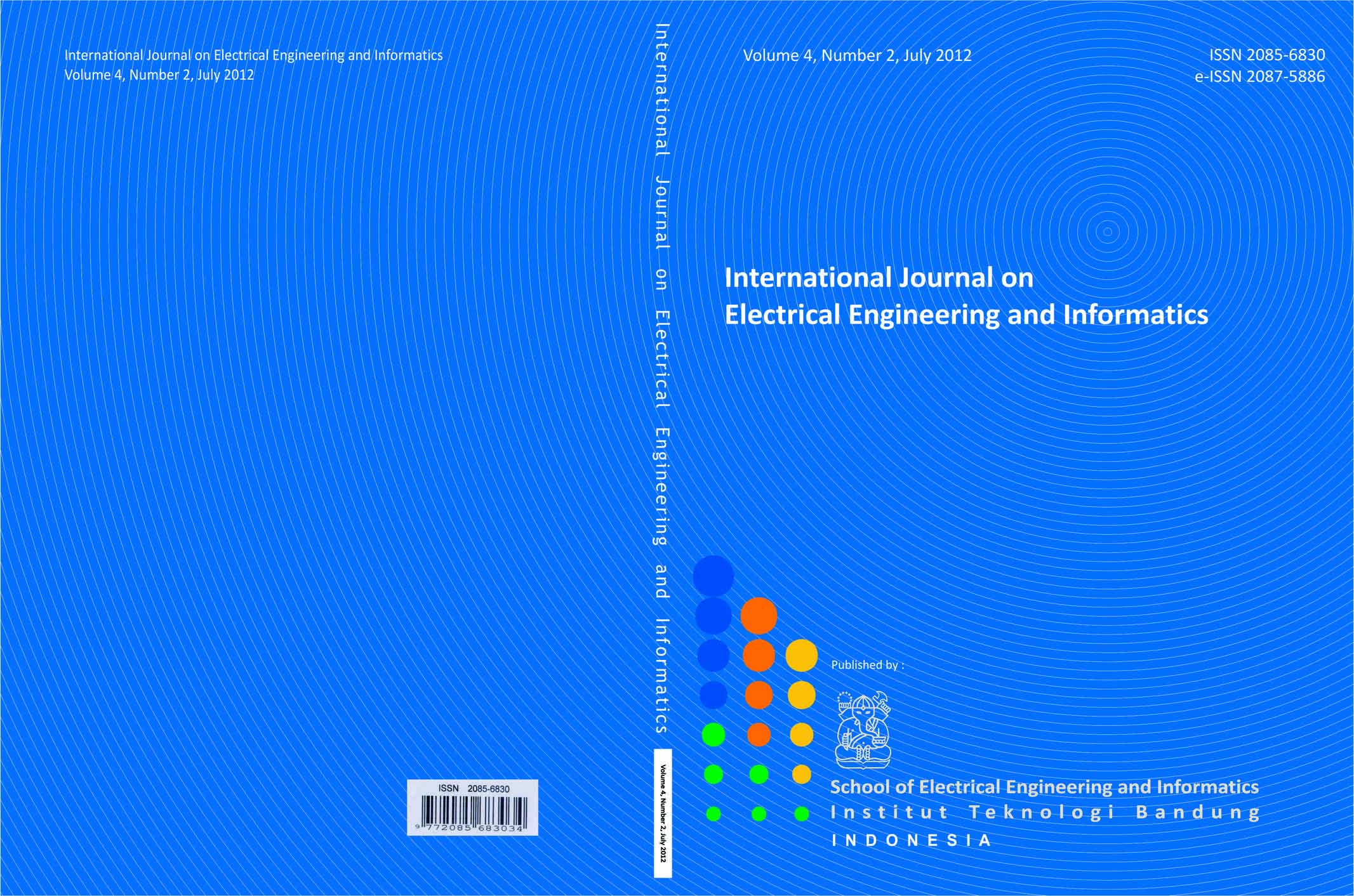Journal cover Vol. 4 No. 2  2012